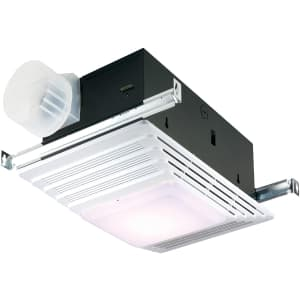 Broan-NuTone Bath Fan and Light with Heater for $43