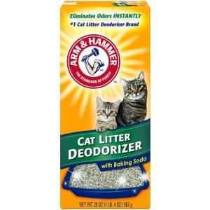 Arm & Hammer Cat Litter Deodorizer 20-Oz. Box for $8