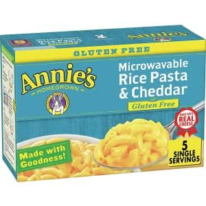 Annie's 2.15oz. Gluten-Free Rice Pasta 5-Pack for $3.30 via Sub & Save