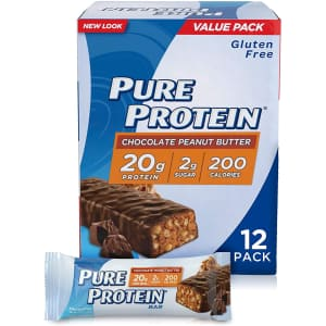 Pure Protein Bars 12-Pack for $7.57 via Sub & Save