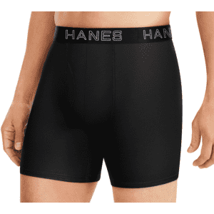Hanes Men's Ultimate Comfort Flex Fit Boxer Brief: free w/ $40 purchase