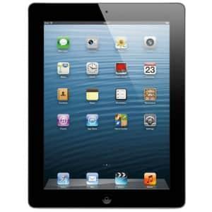 "4th-Gen. Apple iPad 9.7"" 16GB Tablet for $80"
