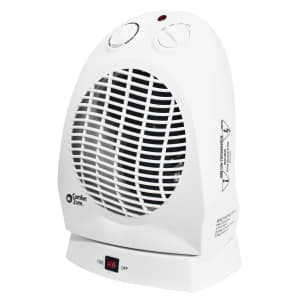 Comfort Zone Oscillating Electric Portable Heater for $27