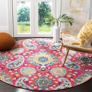 Safavieh Madison Collection MAD600A Boho Chic Glam Paisley Non-Shedding Stain Resistant Living Room for $81