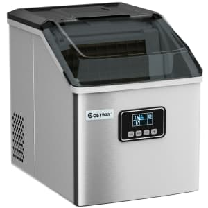 Costway 48-lb. Self-Cleaning Ice Maker for $161