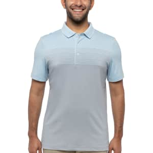 Kirkland Signature Men's Performance Polo Shirt: 5 for $30 in cart for members