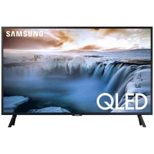 "Samsung 32"" Flat QLED 4K 32Q50 Series Smart TV (2019) for $398"