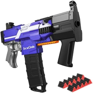 SnowCinda Electric Toy Foam Dart Blaster for $38