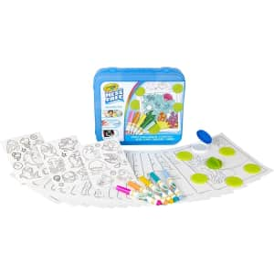 Crayola Color Wonder Mess Free Coloring 30- Piece Activity Set for $12