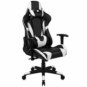 Flash Furniture X20 Gaming Chair Racing Office Ergonomic Computer PC Adjustable Swivel Chair with for $143
