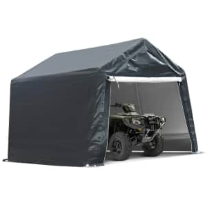 12-Ft. x 7-Ft. Motorcycle Carport for $200