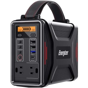 Energizer 240Wh / 75,000mAh USB-C Portable Power Station for $274