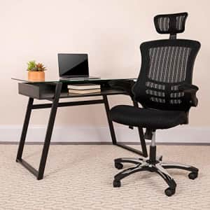 Flash Furniture High-Back Black Mesh Swivel Ergonomic Executive Office Chair with Flip-Up Arms and for $145