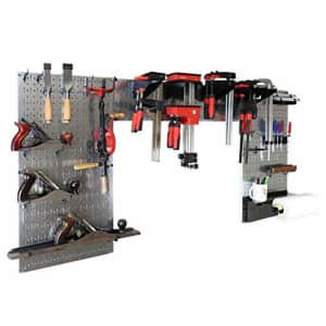 Wall Control Woodworking Tool Storage Organization Kit - Lazy Guy DIY Edition Wood Working Tool for $140