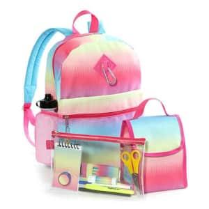 Lightning Bug Kids' Backpack Sets for $10