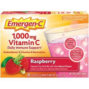 Emergen-C 1000mg Vitamin C Powder, with Antioxidants, B Vitamins and Electrolytes, Immunity for $10