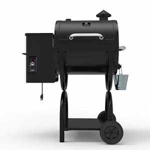 Z GRILLS Wood Pellet Grill and Smoker Perfect for Your Apartment Balcony for $420