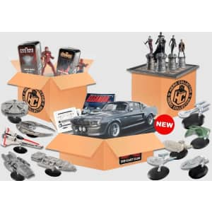 Eaglemoss Collectible Subscription: 1st month starting at $1.95