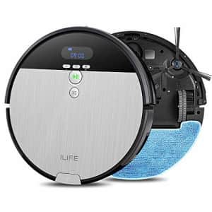 ILIFE V8s Robot Vacuum Cleaner and Mop Combo, XL 750ml Dustbin, Designed for Hard Floors & Pet for $140