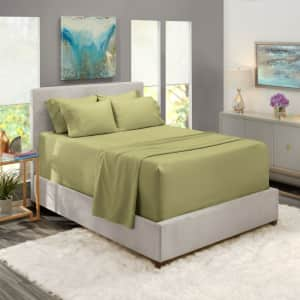 6-Piece Bed Sheet Set from $15