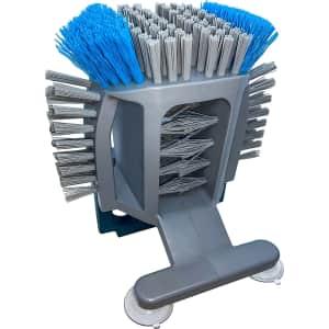 Sink N' Spin In-Sink Dishwashing Suction Scrub Brush for $17