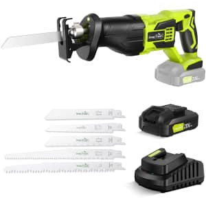 SnapFresh 20V Cordless Reciprocating Saw for $85