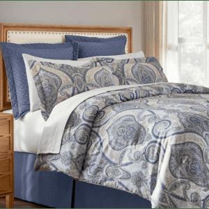 Home Decorators Collection Kayden 6-Piece Damask Full/Queen Comforter Set for $52