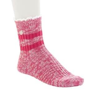 Birkenstock Women's Slub Lace Socks for $12