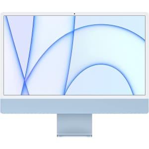 "Apple iMac M1 23.5"" Retina 4.5K All-in-One Desktop (2021) for $1,250"