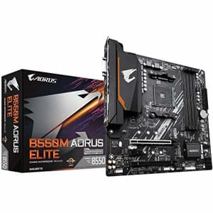 Gigabyte AMD B550 AORUS Elite Socket AM4 Micro ATX DDR4-SDRAM Motherboard for $147