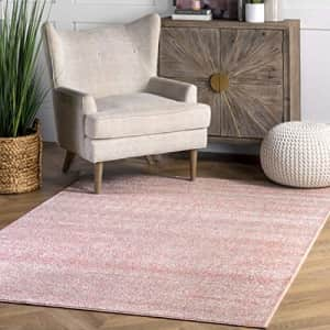 "nuLOOM Moroccan Blythe Area Rug, 5' x 7' 5"", Pink for $38"