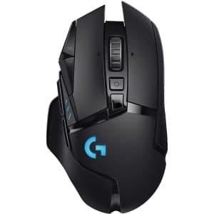 Logitech G502 Lightspeed Wireless Gaming Mouse for $128
