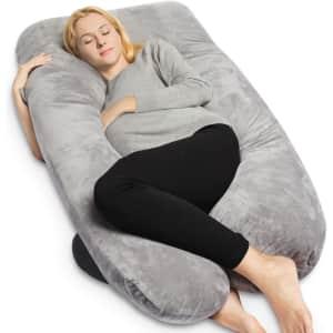 """Queen Rose 55"""" Full Body Maternity Pillow for $29"""