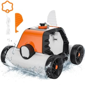 Robotic Pool Cleaner for $131