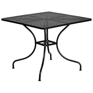 Flash Furniture 35.5SQ Black Patio Table for $147