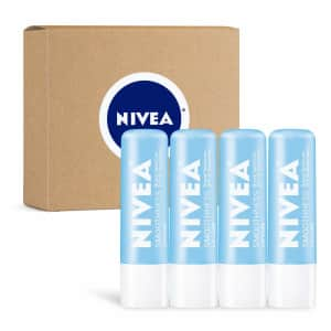 Nivea Smoothness Lip Care 4-Pack for $23