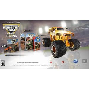 Monster Jam Steel Titans Collector's Edition for Switch for $35