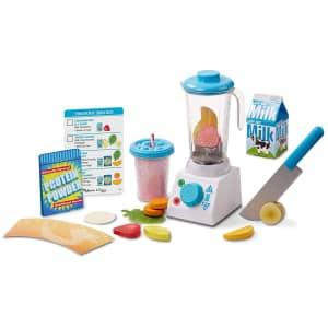 Melissa & Doug Smoothie Maker Blender Set w/ Play Food for $21