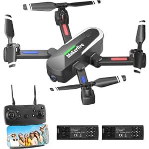 Makerfire RC Quadcopter w/ Camera for $45