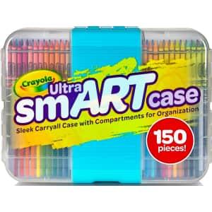 Crayola Ultra SmART Case 150pc Next Generation Art Set for $28