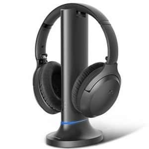 Avantree Opera Wireless Headphones for TV Watching w/Transmitter Charging Dock, Long Range for $150