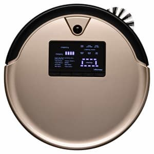 bObsweep PetHair Plus Robotic Vacuum Cleaner and Mop, Champagne for $349