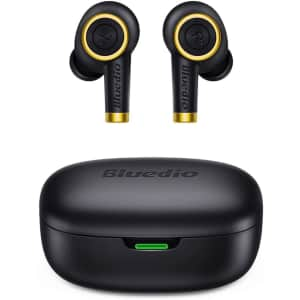 Bluedio Particle Wireless Bluetooth Earbuds for $19