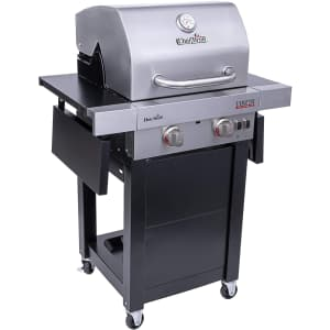 Char-Broil Signature TRU-Infrared 2-Burner Cart Style Gas Grill for $220