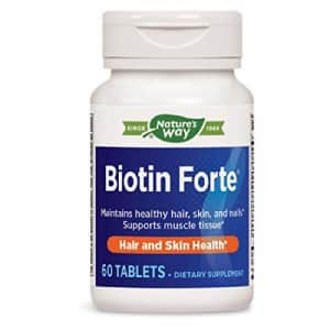 Nature's Way Biotin Forte, 5mg, Tablets, 60 ea for $21