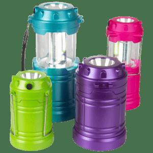 SecureBrite Pop-Up LED Lanterns w/ Spotlight 4-Pack for $19