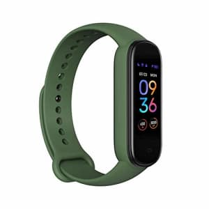 Amazfit Band 5 Fitness Tracker with Alexa Built-in, 15-Day Battery Life, Blood Oxygen, Heart Rate, for $40