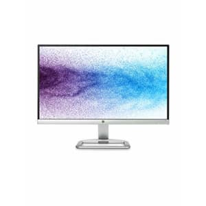 HP T3M72AA Full HD 1080p IPS LED Monitor with Frameless Bezel and VGA & HDMI -21.5-Inch, Silver for $351