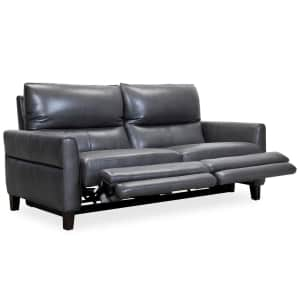 """Tyvon 80"""" Top Grain Leather Power Motion Sofa for $1,199"""