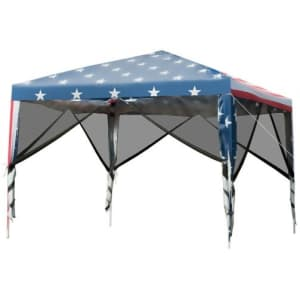 Costway 10-Foot x 10-Foot Pop Up Canopy for $139